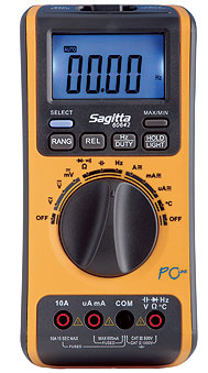 Multimeter för PC, USB