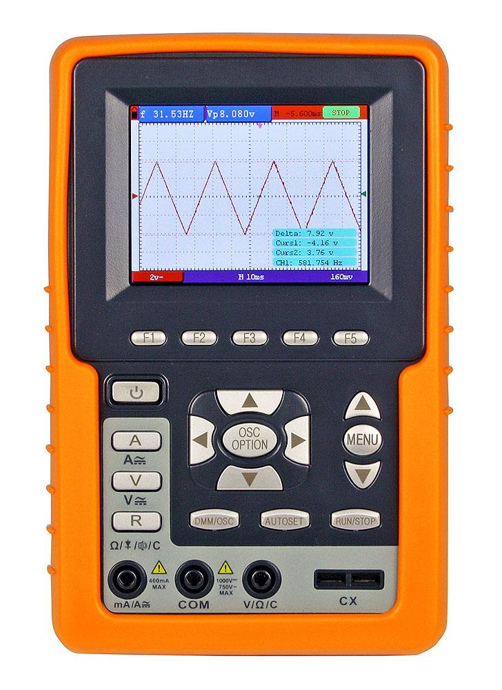 Oscilloskop handhållet 20 MHz