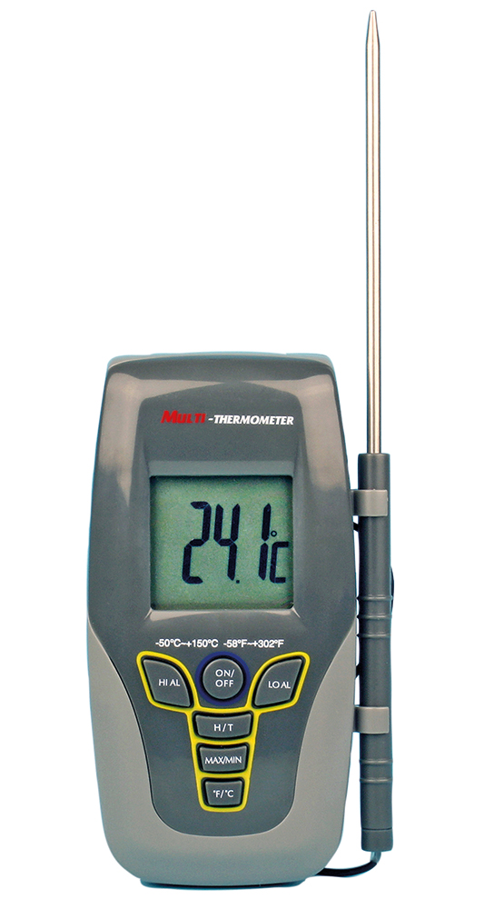 Termometer med prob