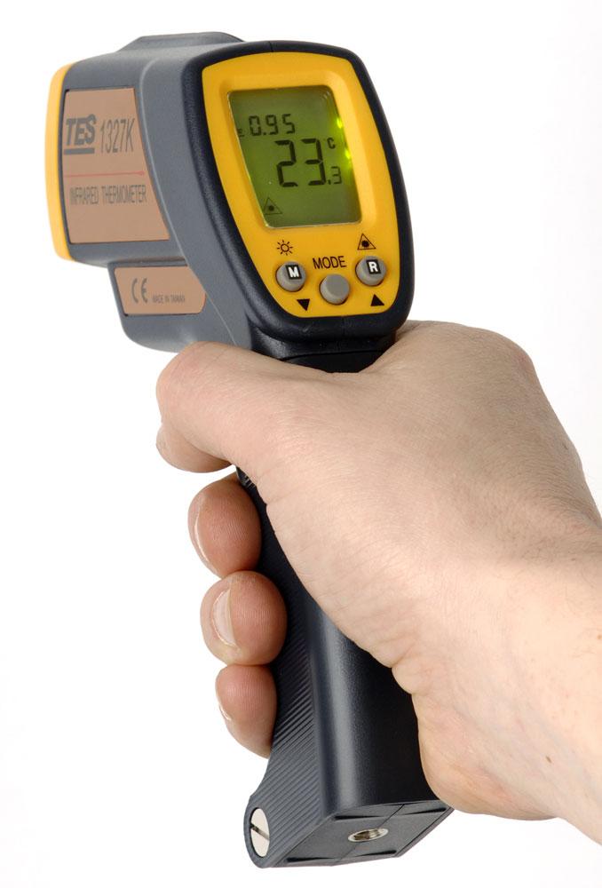 Termometer Infraröd,  K-typ