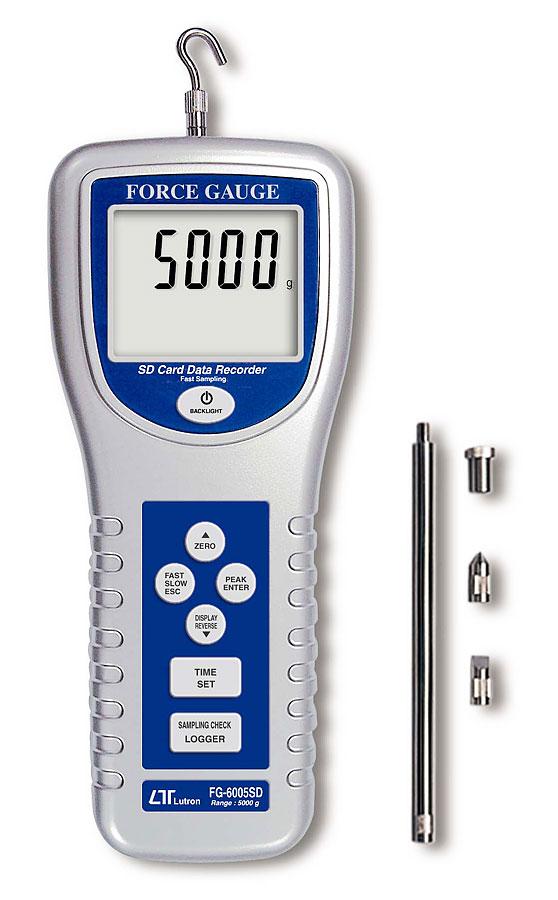 Dynamometer tryck & drag 50 N, SD