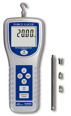 Dynamometer tryck & drag 200 N, SD