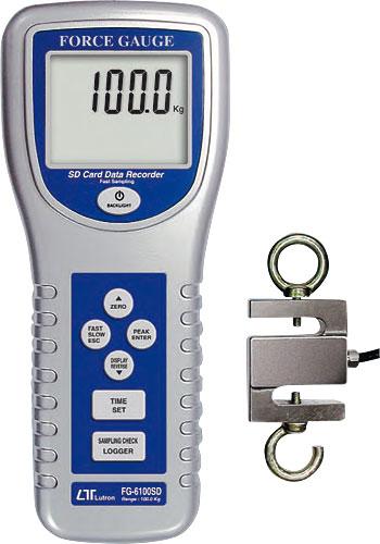 Dynamometer tryck & drag 1000 N, SD