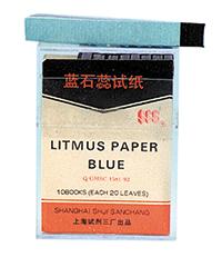 Lackmuspapper blått, fp 200 remsor