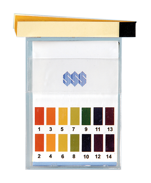 pH-papper 1-14