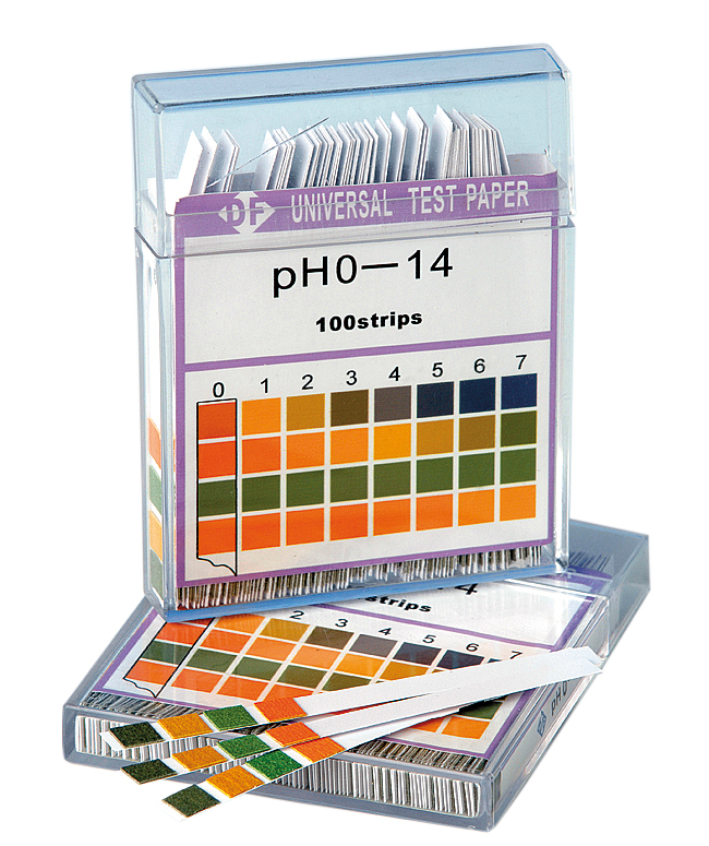 pH-indikatorstickor 0-14
