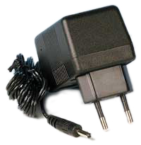 Nätadapter 9V/200mA, Center