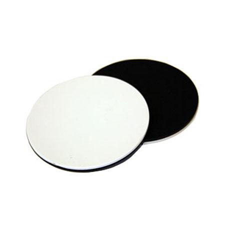 Plastskiva svart/vit till Stereolupp 95 mm