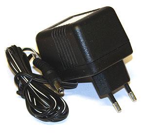 Nätadapter 9 V/500 mA, mikroskop/stereolupp sladdlöst