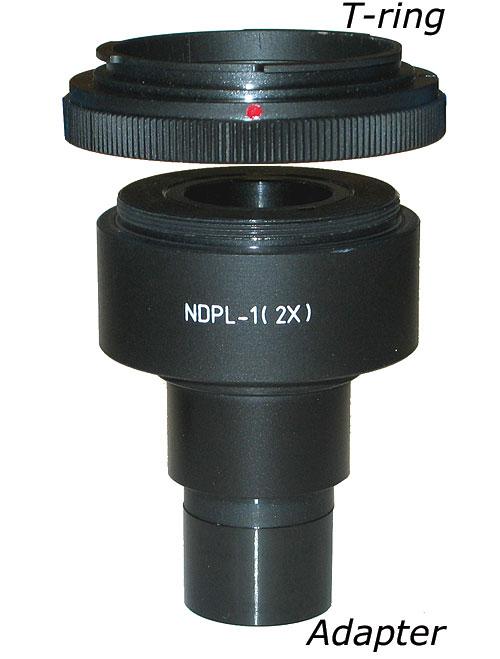 Kameraadapter till mikroskop