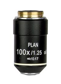 Objektiv 100x Planakromatiskt