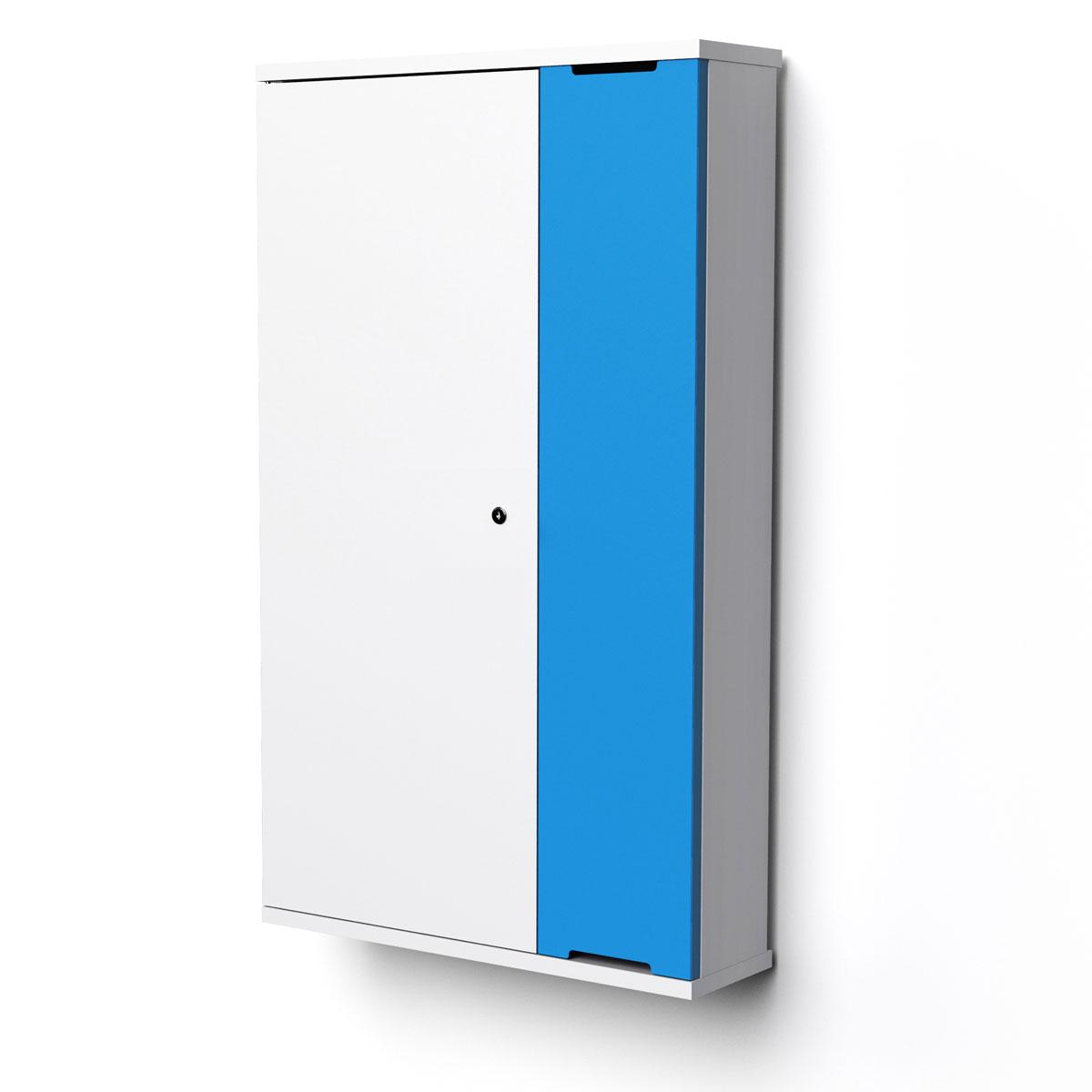 Väggskåp 10 surfplattor zioxi - iPadförvaring