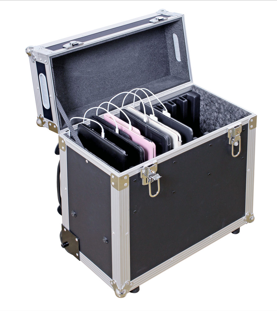 ComfortBoxen S - för 10 surfplattor - iPadförvaring