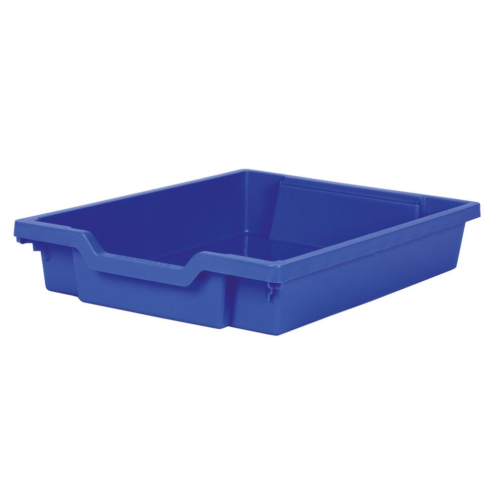Förvaringslåda höjd 75 mm, blå