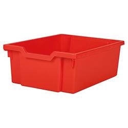 Förvaringslåda höjd 150 mm, röd