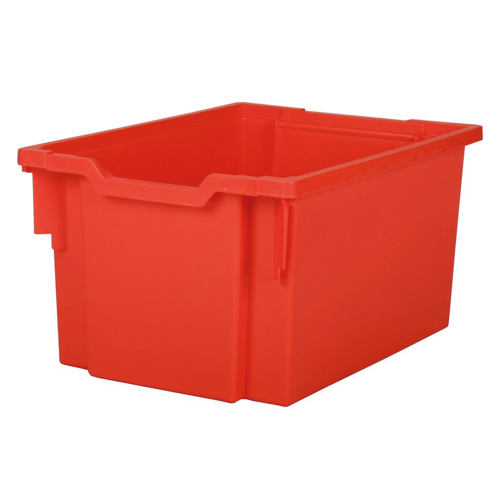 Förvaringslåda höjd 225 mm, röd