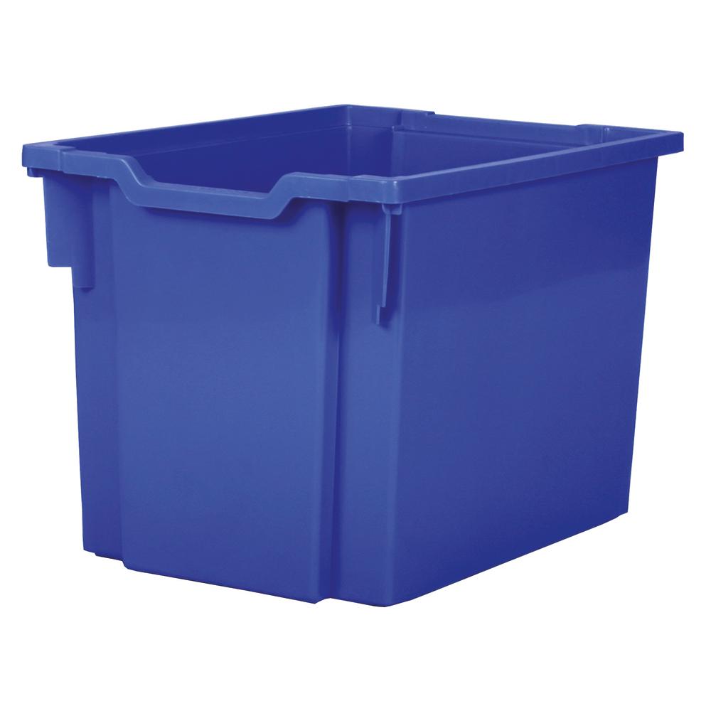 Förvaringslåda höjd 300 mm, blå