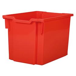 Förvaringslåda höjd 300 mm, röd