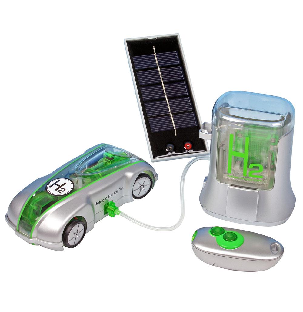 Bränslecellbil med tankstation 2.0