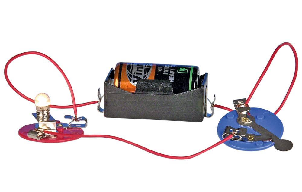 Batterihållare R20 klämma, fp 10 st