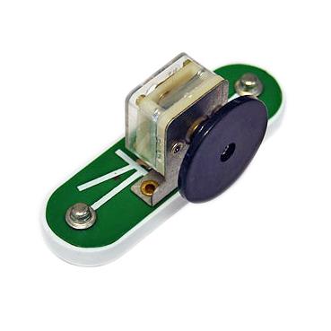 Vridbar kondensator till elektroniksats