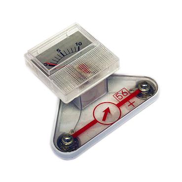 Amperemeter analog till elektroniksats