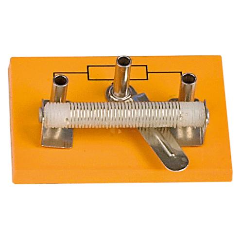 Resistor variabel för labsladd