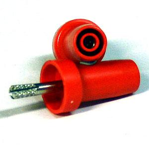 Adapter för säkerhetssladd, röd