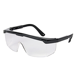 Skyddsglasögon ställbara
