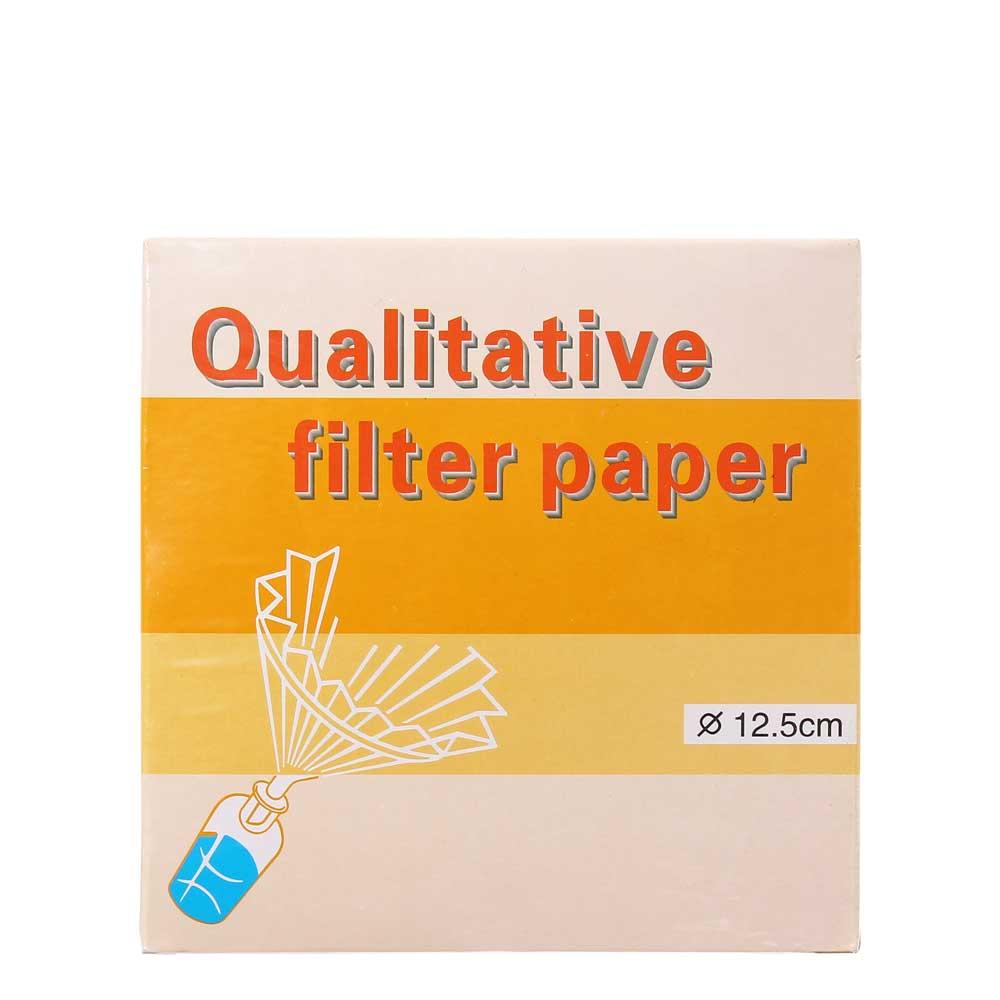 Filtrerpapper 12,5 cm slow, 100 st