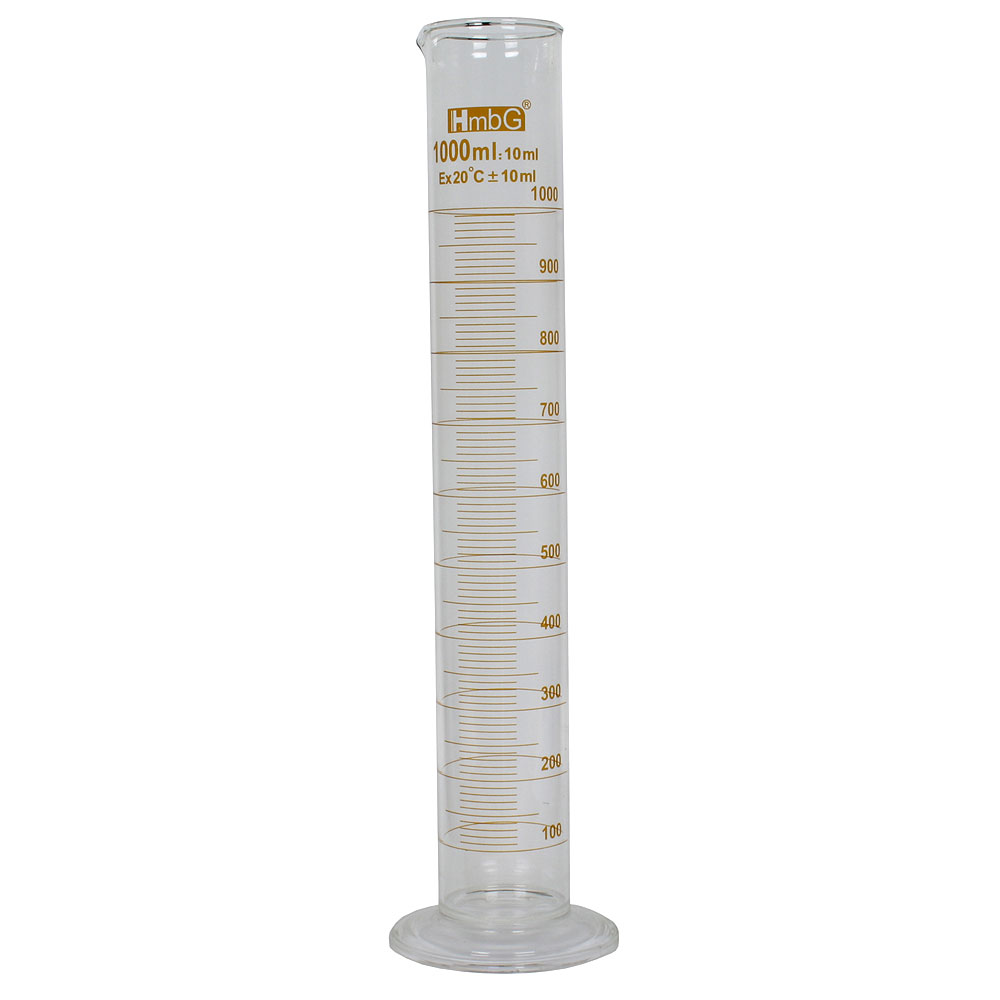 Mätcylinder hög 1000 ml