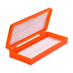 Preparatbox för 50 objektglas