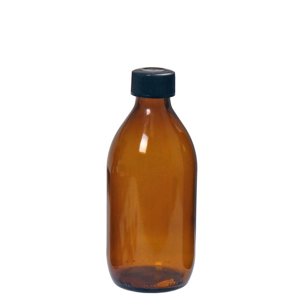 Flaska brun 300 ml