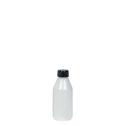 Flaska plast 100 ml, fp 10 st