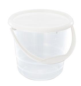 Hink med lock 5 liter fp 3 st
