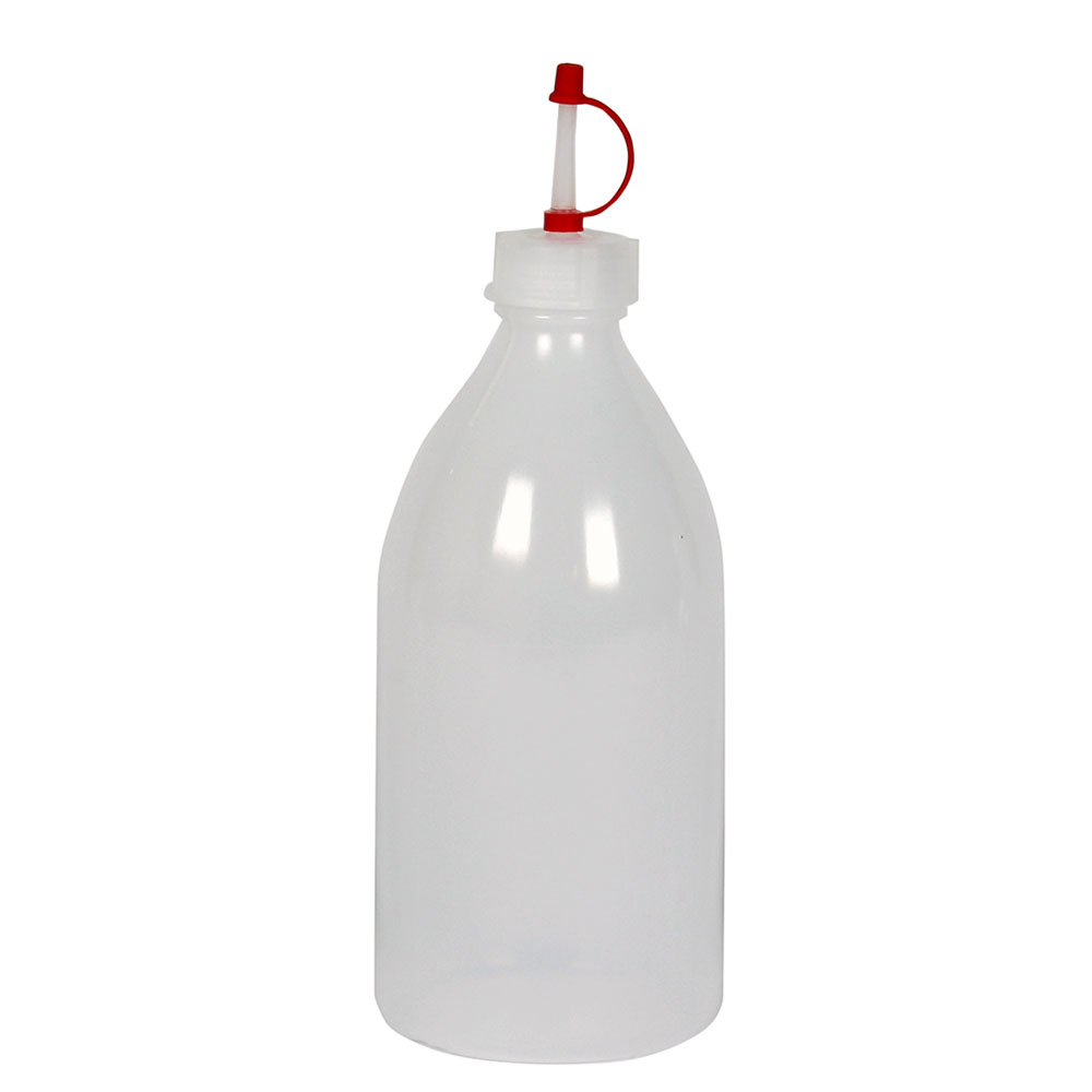 Droppflaska plast 500 ml, 10 st