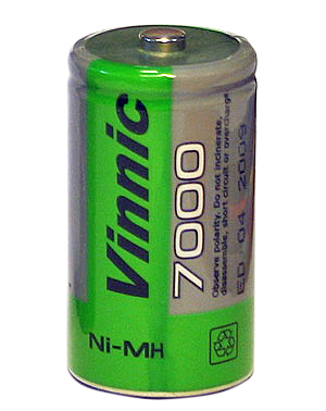 Batteri uppladdningsbart HR20/D