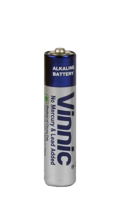 Batteri alkaliskt LR03/AAA, fp 20 st
