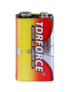 Batteri alkaliskt 9V 6LF22