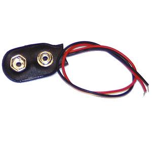 Batterikontakt 9V, fp 10 st