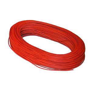 Kopplingstråd 10 tråd röd, fp 100 m