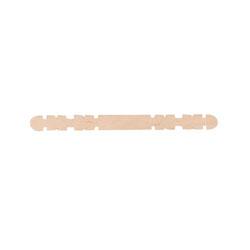 Glasspinnar slitsade, fp 1000 st