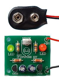 Byggsats Blinkande dioder, fp 10 st