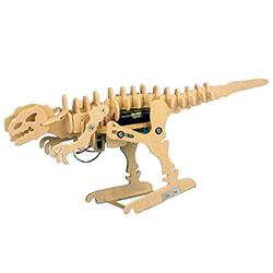 Byggsats Tyrannosaurus trä