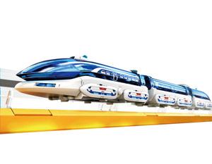 Byggsats Magnettåg - Maglevtåg