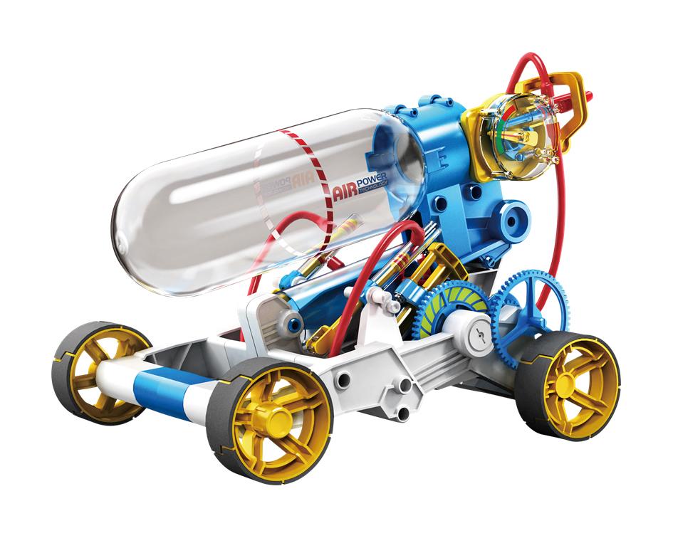 Air Power Engine Car Kit