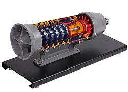 Jetmotormodell FYND