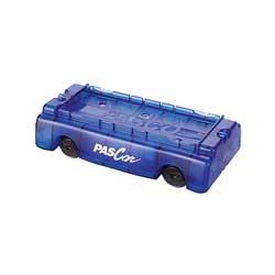Dynamikvagn blå plast