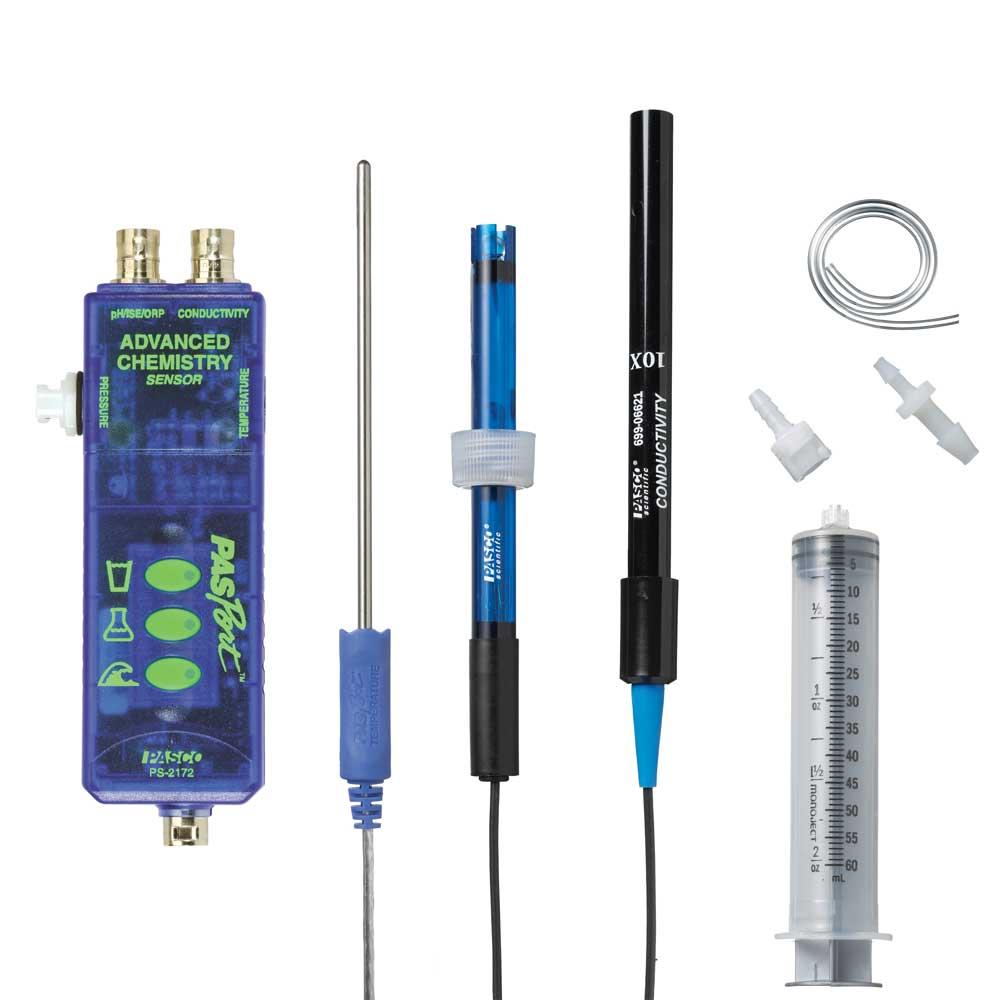 Tryck-/Temperatur-/pH-/Konduktivitetssensor