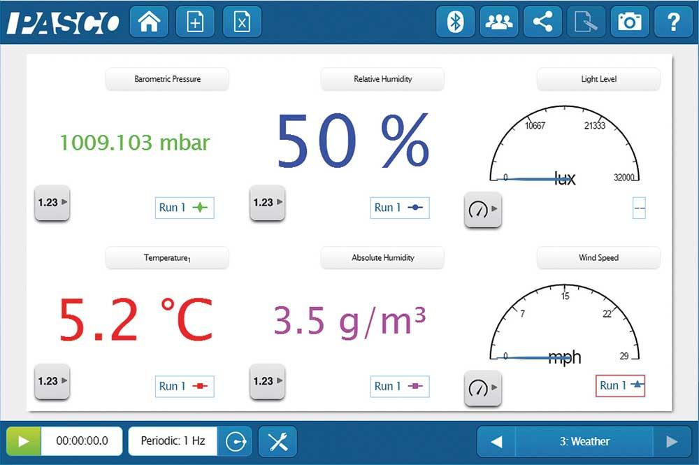 Vädersensor trådlös med GPS